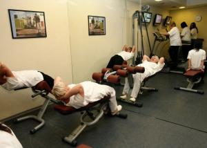 Exercises in the fitness