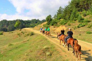 Horseback riding in the mountain | LuckyFit