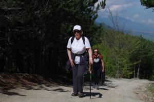 Hiking in the Rodopi mountain