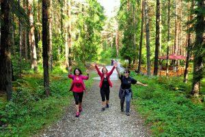 Weight loss center LuckyFit - Mountain walk