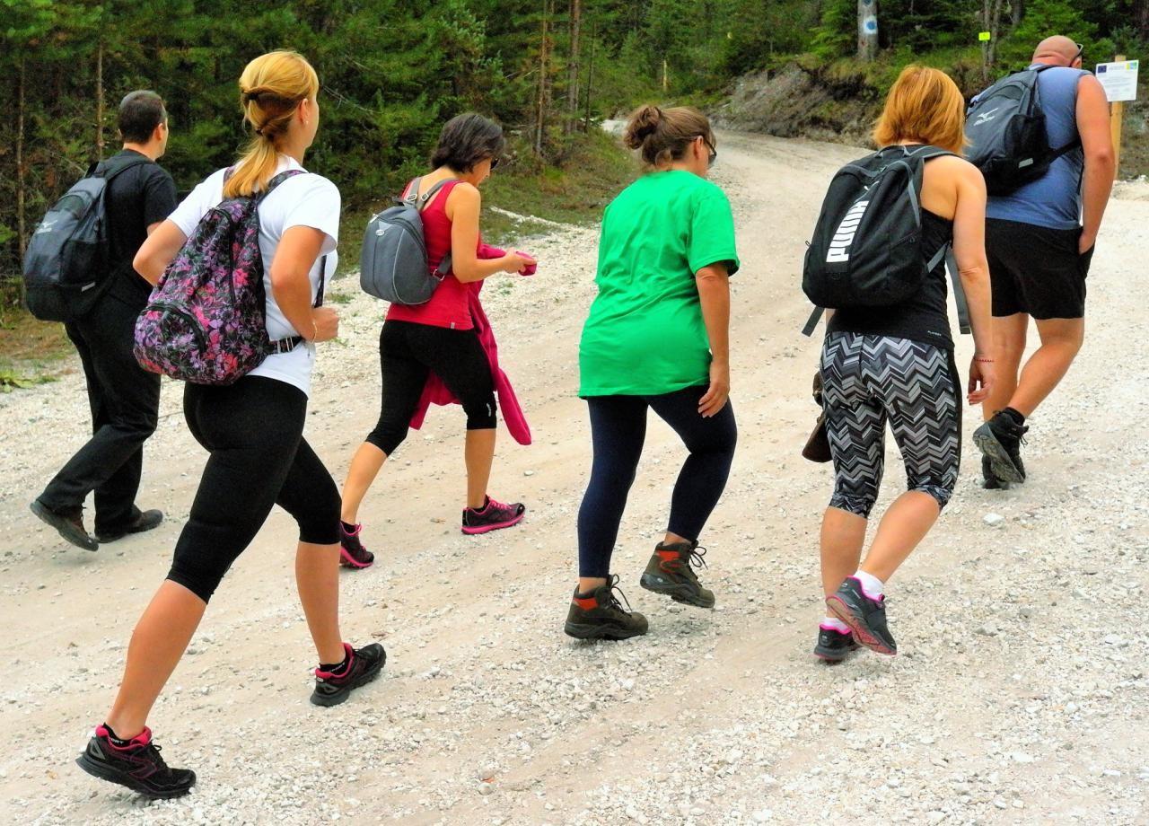 Mountain walking trip | LuckyFit