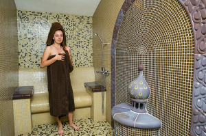 SPA comforts at LuckyFit