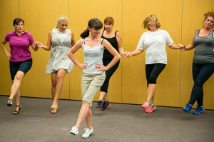 Weight loss with dances and smiles
