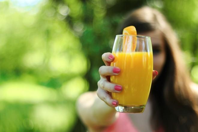Cup of orange juice | LuckyFit