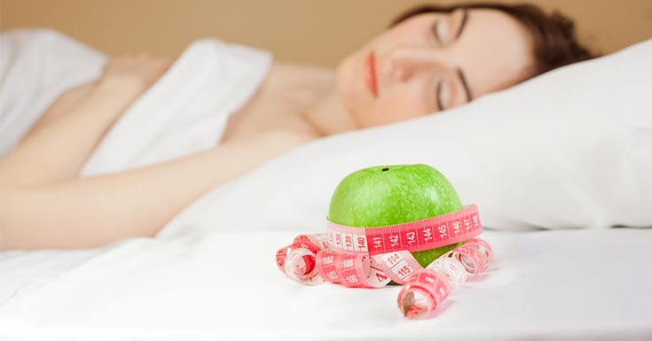 Weight loss through good sleep | LuckyFit