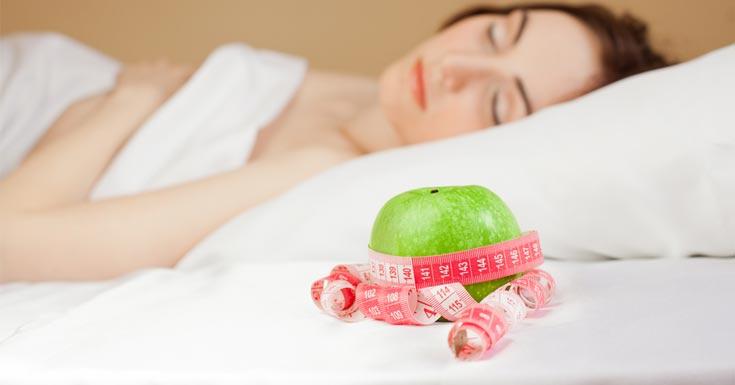 Weight loss through good sleep   LuckyFit