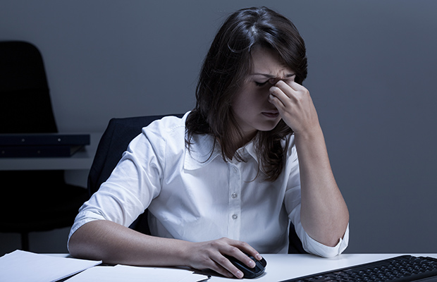Drowsiness at work | LuckyFit
