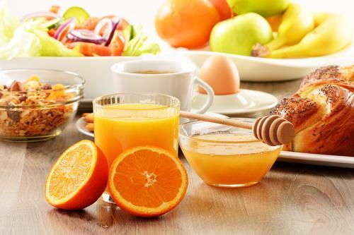 Orange juice small cup | LuckyFit