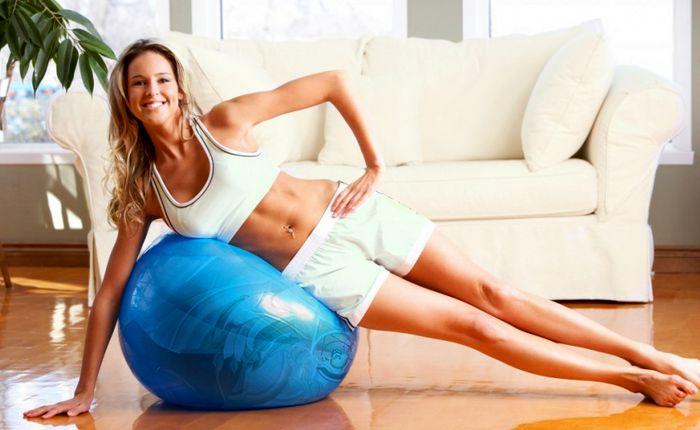 Домашни упражнения за отслабване успешно   LuckyFit