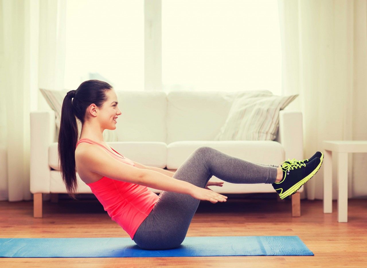 Home exercises for weight loss   LuckyFit