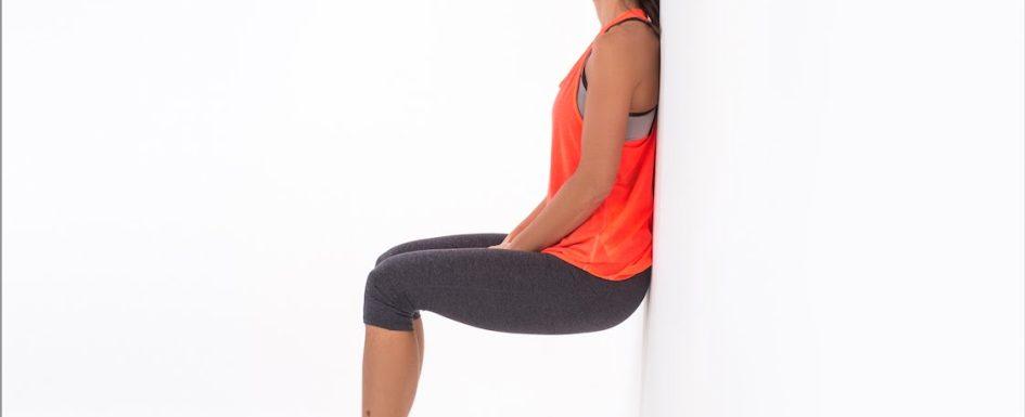 Упражнения за дупе - клек до стена   LuckyFit