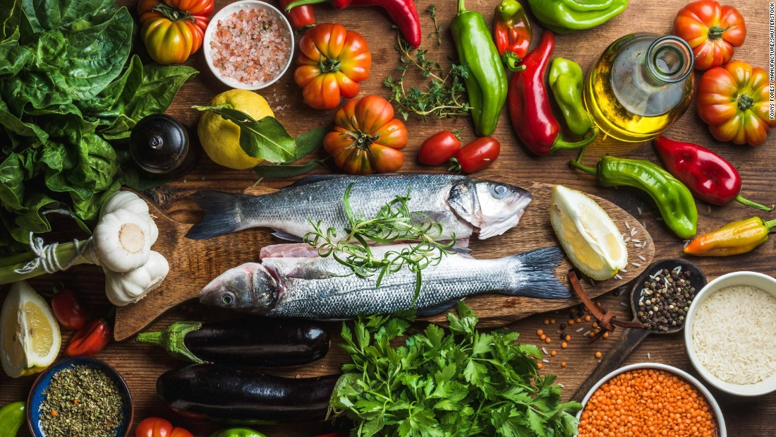 Средиземноморска диета за отслабване   LuckyFit