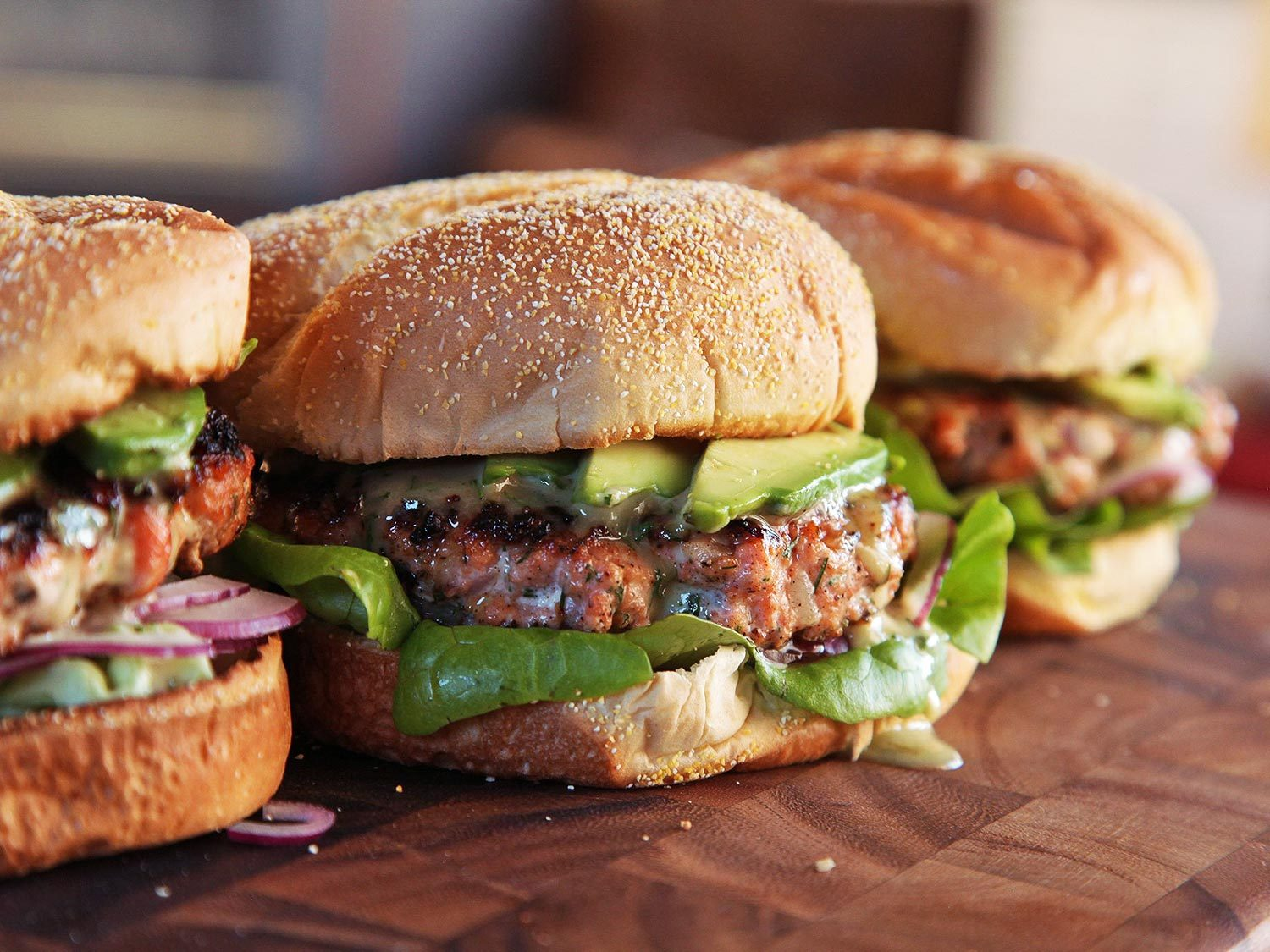 Burger with meat | LuckyFit