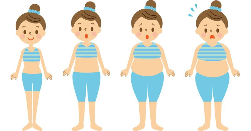 Gaining weight with age | LuckyFit