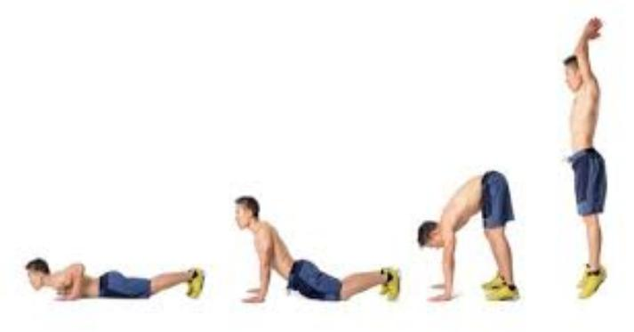 Burpee at home   LuckyFit