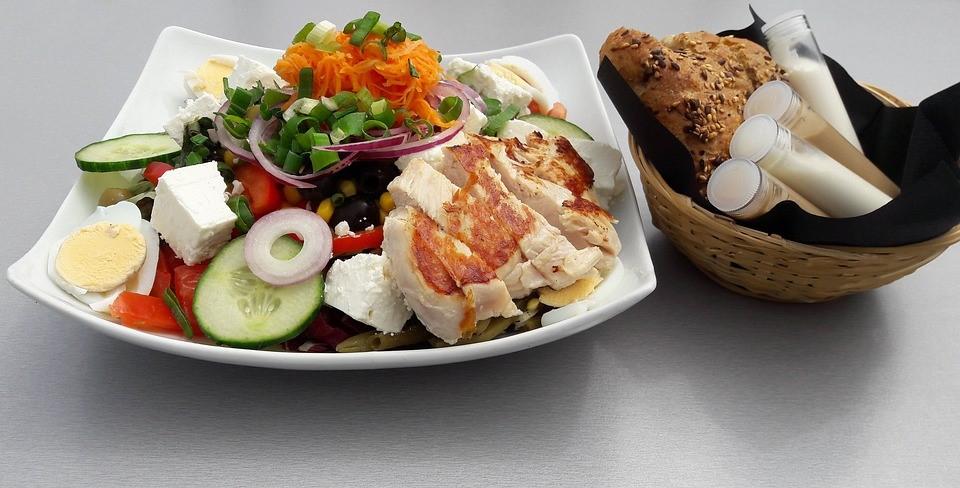Salads for men   LuckyFit