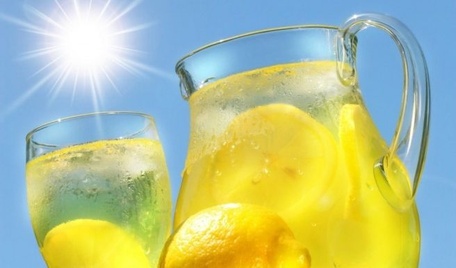 Detoxification with lemons