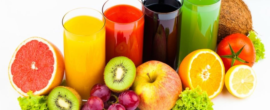 Useful fruits for juice