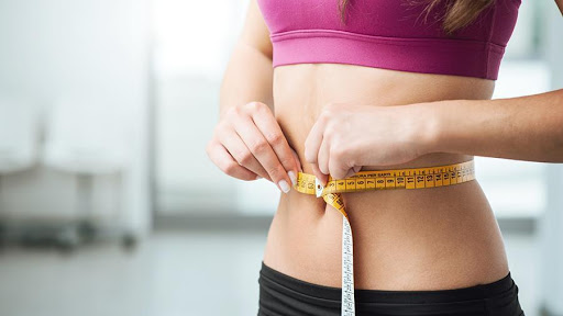Use of the slimming belt