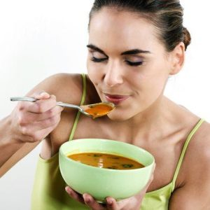 Soups for detoxification of the body