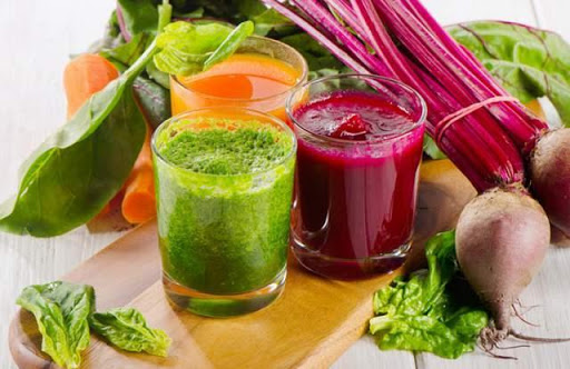 Foods and drinks detox