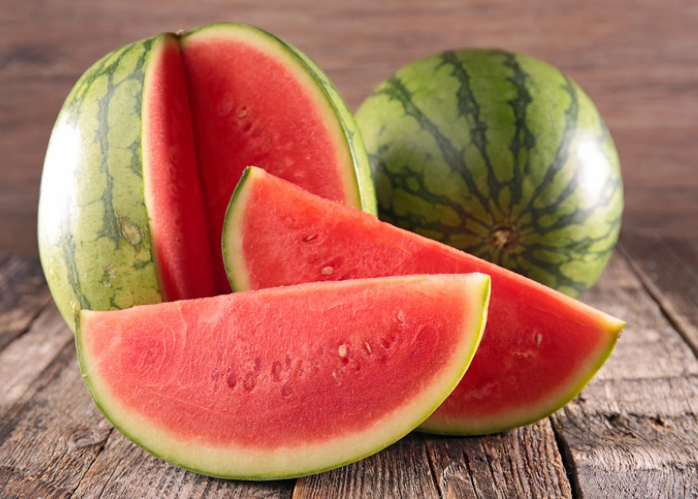 Eating watermelon for losing weight