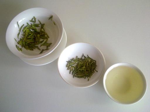 Съчетания от зелен чай