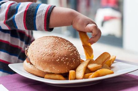 Затлъстяването при децата