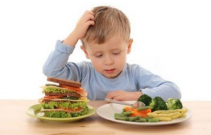 Healthy eating for children from 3 to 7 years of age
