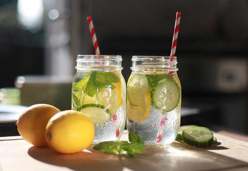 Детоксикация с лимон, джинджифил и краставица