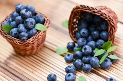 Горски плодове за детокс на черния дроб